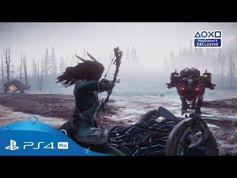 Horizon Zero Dawn: The Frozen Wilds | PGW 2017 Trailer | PS4 thumbnail