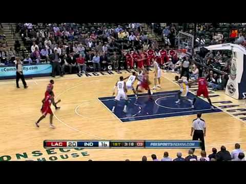 Eric Gordon Mega-Dunk on Roy Hibbert