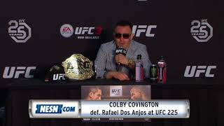 Colby Covington full controversial UFC 225 post-fight press conference