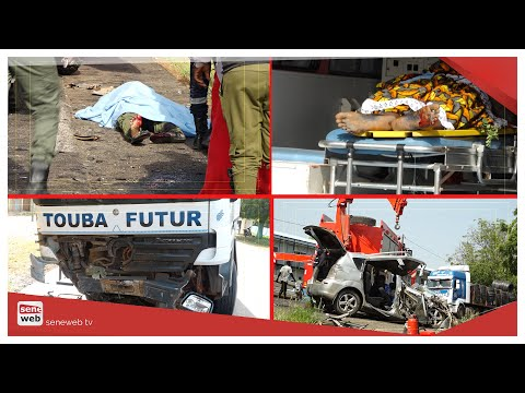 Gamboul: les terribles scènes d'un accident qui a causé 5 m0rts