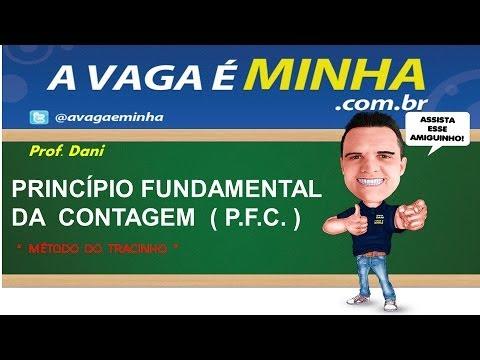 PRINCÍPIO FUNDAMENTAL DA CONTAGEM ( ANÁLISE COMBINATÓRIA ) MATEMÁTICA ENEM