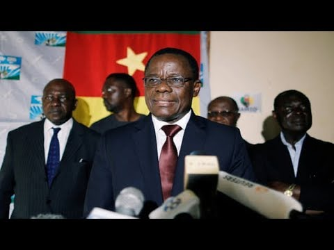 Cameroon Arrests Opposition Leader;Paul Biya's Police & Military Are Using Live Ammo On Protesters