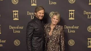 Mary Beth Evans & Stephen Nichols Red Carpet Style at Days of Our Lives 50 Anniversary Party
