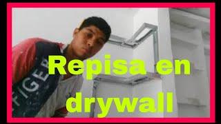 Figuras en drywall para decorar salas - fácil de hacer