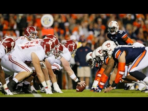 Alabama Vs Auburn Full Football GAME HD 2014 thumbnail