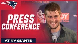 Danny Etling and Bill Belichick press conferences after preseason win vs. Giants