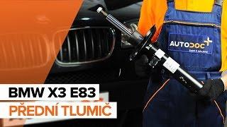 Jak vyměnit přední tlumič na BMW X3 E83 [NÁVOD]