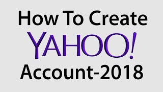 How To Create Yahoo Account And Add Recovery Mail 2018