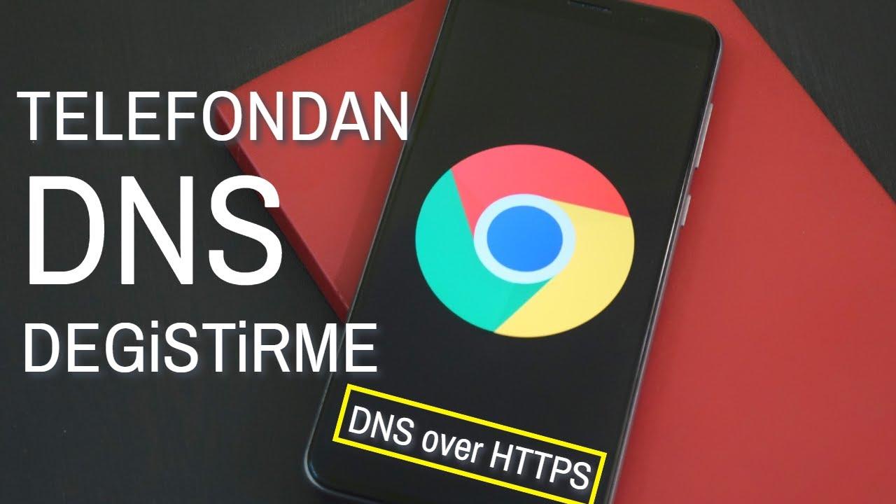 DNS DEĞİŞTİRME ANDROİD | TELEFONDAN DNS DEĞİŞTİRME