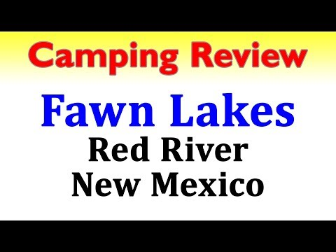 Fawn Lakes Campground - Red River, NM - 4k UHD