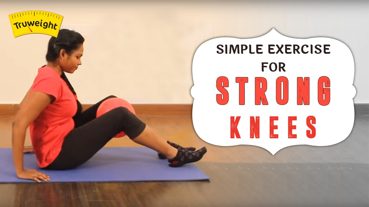 how to make knees stronger