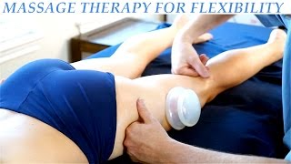 Repeat youtube video Hip & Glute Massage Therapy for Legs, Cupping, Sports Massage   HD Advanced Body Work Techniques