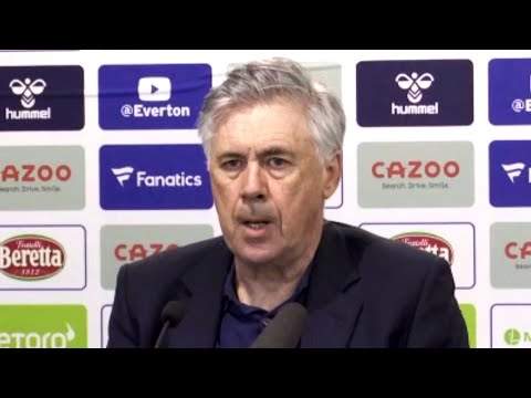 Everton 0-1 Sheffield United - Carlo Ancelotti - Post-Match Press Conference