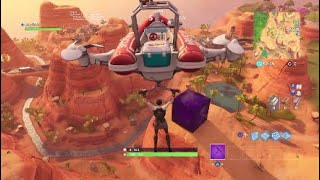 I died by the Fortnite Cube XD