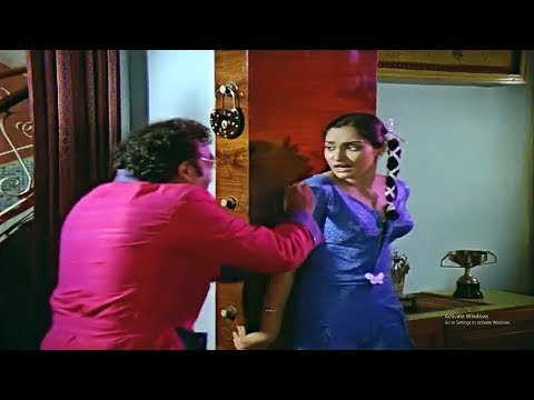 Madhavi Interesting Movie Scene   Telugu Movie Scenes   Silver Screen Movies