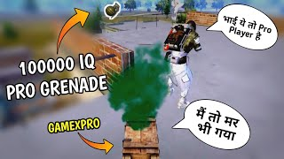 🔥Most Epic God Level Grenade You must have to watch - Epic moment Pubg mobile - G Guruji