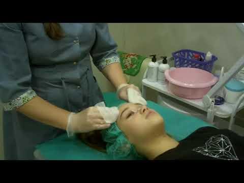Атравматичная чистка лица и маска