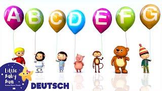 ABC Lied Luftballons | Kinderlieder | LittleBabyBum
