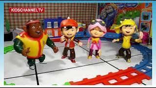 Terbaru Boboiboy Naik Kereta Api Mainan Anak | Kids Toys Terpopuler