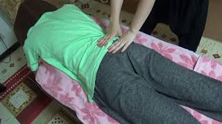 【気持ち良くて寝そう】腰痛肩こり24歳バンドマン男性に整体2【りらく屋】 thumbnail