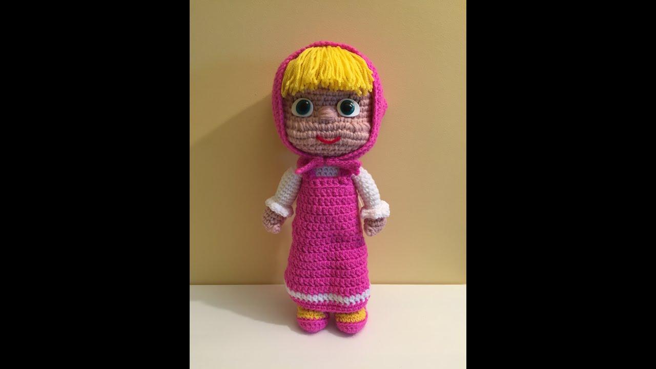 Orso Amigurumi Tutorial : Masha Amigurumi prima parte (tutorial)/How to crochet ...