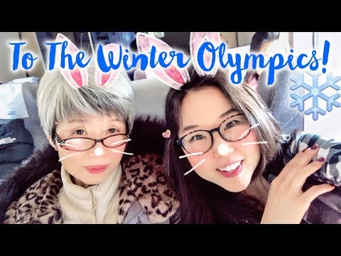 Riding the Train from Seoul to Gangneung ♦ PYEONGCHANG WINTER OLYMPICS!