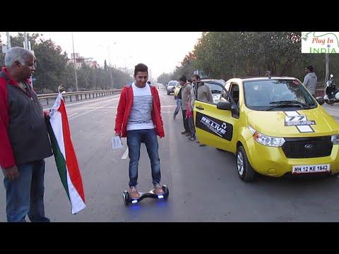 Rideables in India!   Bird Board electric skateboard