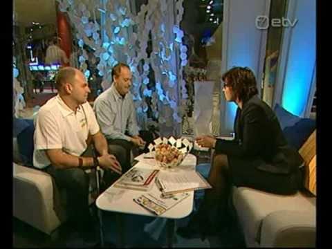 Will Shortz on Estonian TV