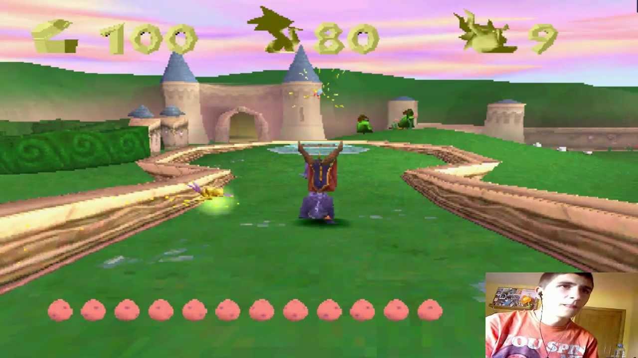 Serie Juegos De Playstation 1 Spyro The Dragon Parte 1 Youtube