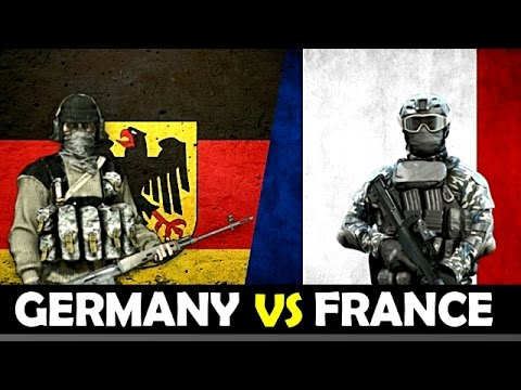 Germany vs France - Military Power Comparison 2017