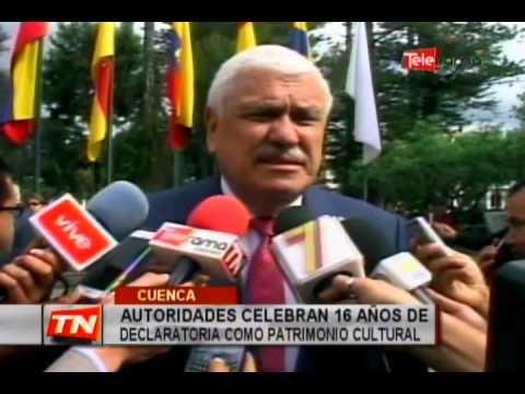 Autoridades celebran 16 años de declaratoria como patrimonio cultural