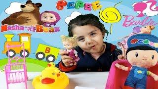 Barbie Maşa Evcilik Oynuyorlar İlkim İle Beraber Çocuk videosu Çizgi Film