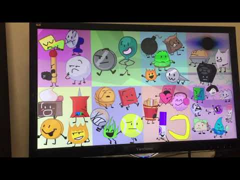 Bfb But Only Characters With The Letters M,I,K, And A Exist