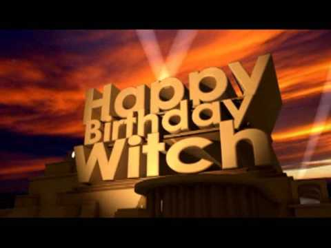 happy birthday witch Happy Birthday Witch   YouTube happy birthday witch