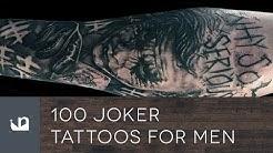 100 Joker Tattoos For Men