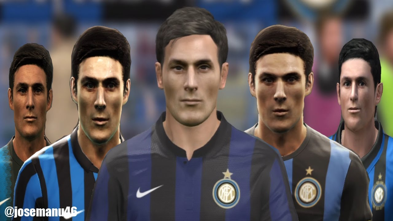 Javier ZANETTI from PES 3 to PES 2014
