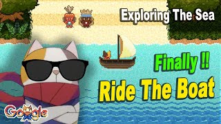 Google Doodle Champion Island Ride The Boat