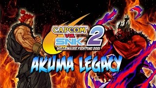 GODS DO BATTLE! - Akuma Legacy: Capcom Vs. SNK 2