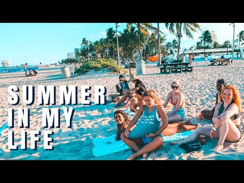 SUMMER MONTH IN MY LIFE | Finals Week + Working At Lululemon