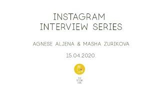 Sketching Interview Series - E01 - Masha Zurikova & Agnese Aljena - Instagram Live recording