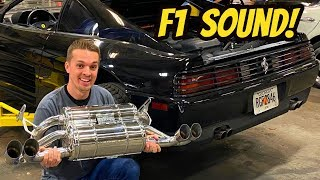 The Cheapest Ferrari 348 Gets the Most Expensive Exhaust: CAPRISTO F1 SOUND!