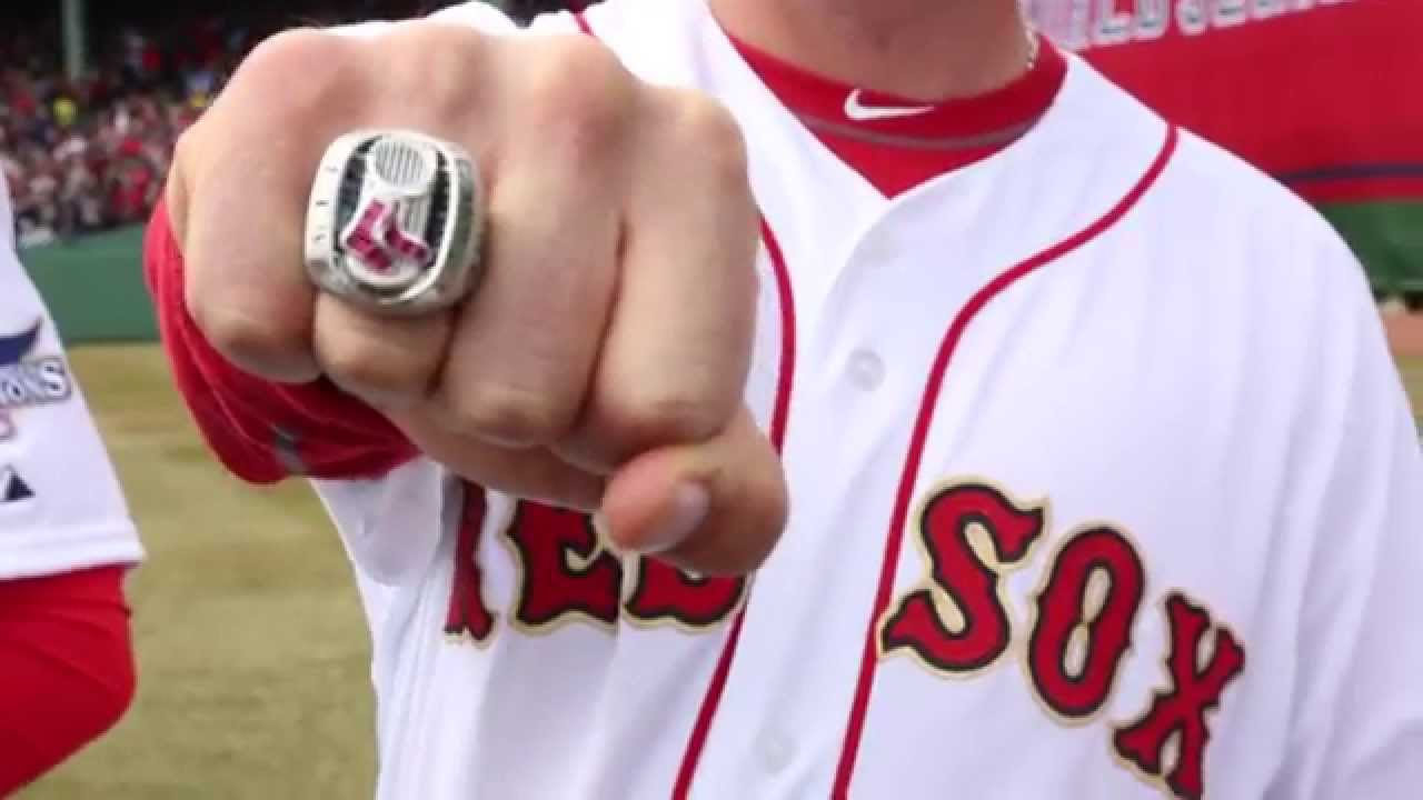 2013 World Series Ring Raffle Dustin Pedroia