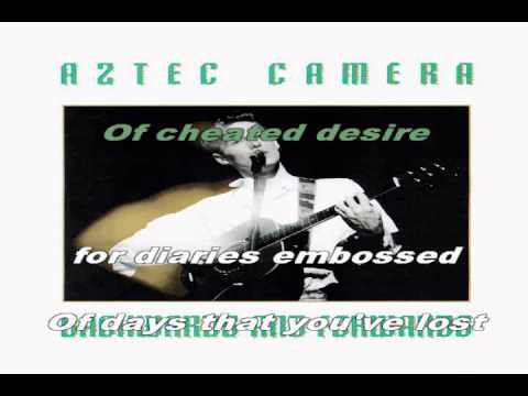 Mattress of Wire [live] (karaoke) - in the style of Aztec Camera