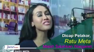 Dicap Pelakor, Ratu Meta Malah Salahkan Warganet - JPNN.COM