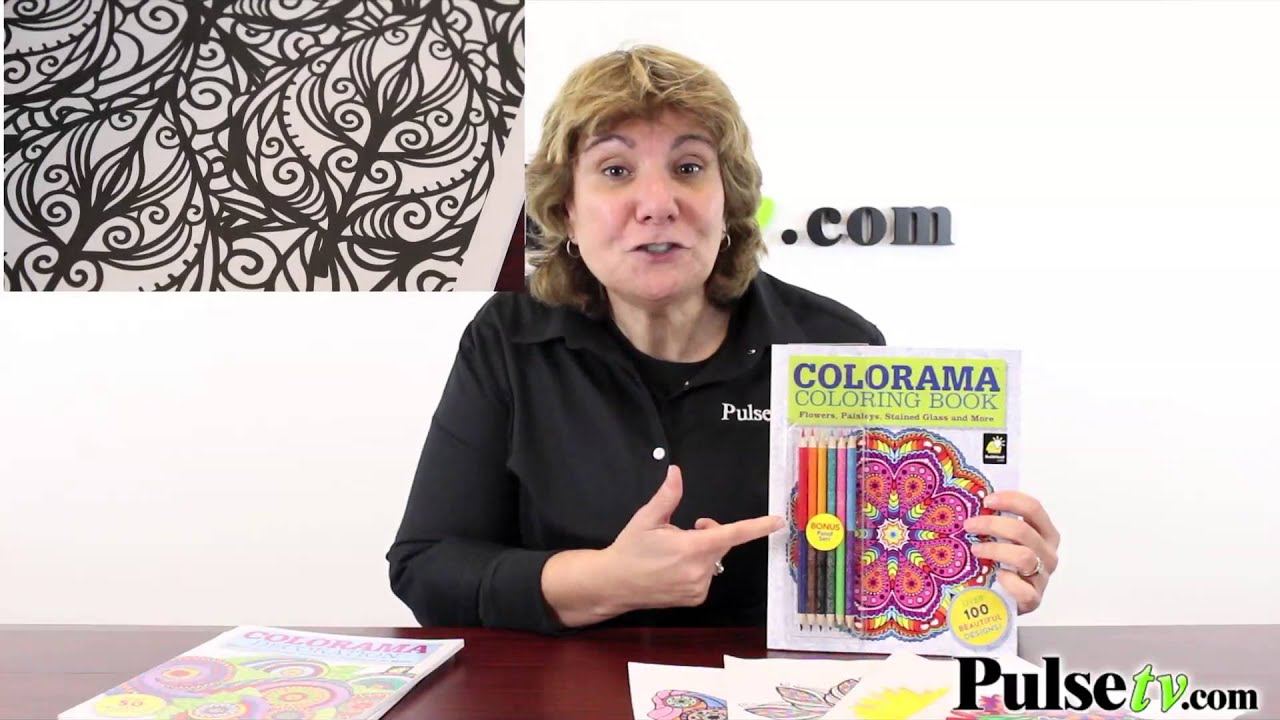 Colorama Adult Coloring Books Collection