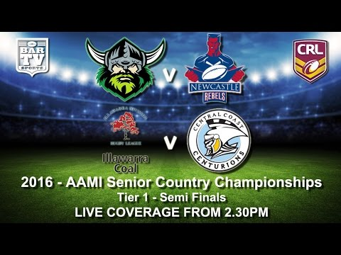 2016 - AAMI Senior Country Championships - Tier 1 - Semi Finals
