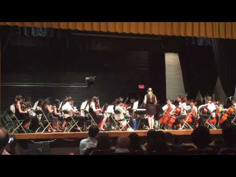 Frelinghuysen Middle School 8th grade orchestra