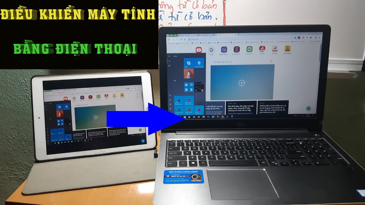 ✅Hướng dẫn điều khiển máy tính bằng điện thoại từ xa| Remote PC,Laptop by Phone so far