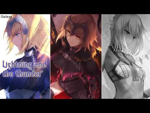 Nightcore  (Believer-Thunder-Whatever It Takes) (Mashup) (Switching Vocals) (1 HOUR)
