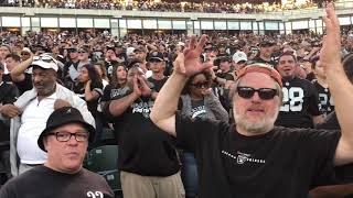 Sights And Sounds From Oakland Raiders vs Bengals
